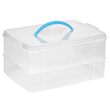 Snapware Snap 'N Stack Portable Organizer (14.1-Inches by 10.5-Inches)