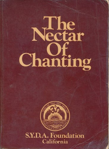 The Nectar of Chanting: Transliteration and English Rendition of Sacred Texts and - Nectar Atlanta