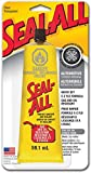 Seal-All Gas & Oil Resistant Adhesive Wood, Metal, Aluminum Plastic And Rubber Clear Carded, Tube 2 by Seal-All