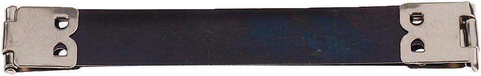 sharprepublic Internal Frame closure Metal Purse Bag Frame Clasp Lock 10 PCS Black 8 x 1.4cm