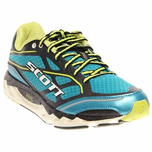 Scott Eride Support - SCOTT Running Women's Eride AF Support 2.0 Womens Walking Shoe,Blue/White,8.5 C US