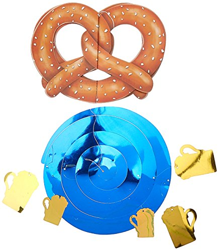 [Jumbo Oktoberfest Whirl Party Accessory (1 count) (1/Pkg)] (Oktoberfest Costumes Party City)