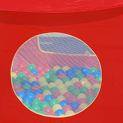 Kinder Spielzelt Bällebad | + 200 Bälle | abnehmbares Dach | POP UP ...