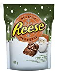REESE PEANUT BUTTER Christmas & Holiday Candy, Santas, 161g
