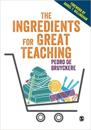 Image result for the ingredients for great teaching