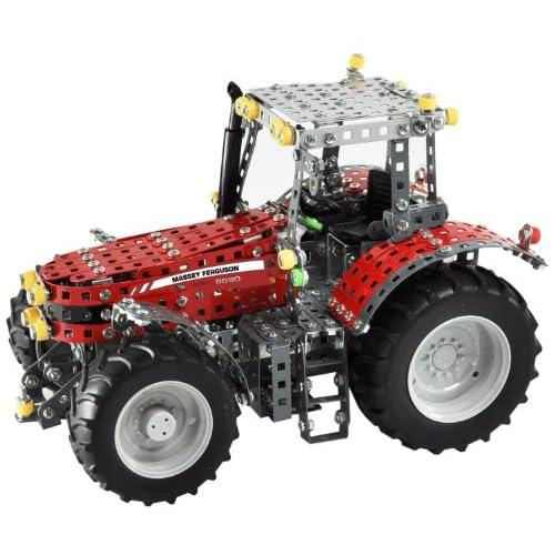 Tronico 10080 - Tracteur Massey Ferguson Mf8690 - Echelle 1/16 - 1024 Pièces - Rouge
