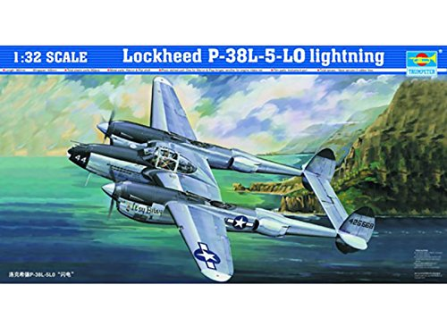 (Trumpeter 1/32 02227 Lockheed P-38L-5-LO Lightning)