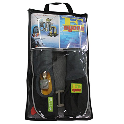 Eyson Inflatable Life Jacket/Vest Classic Manual (Grey)