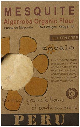 Zócalo Peru Organic Mesquite Flour, 16 Ounce Mesquite Flour