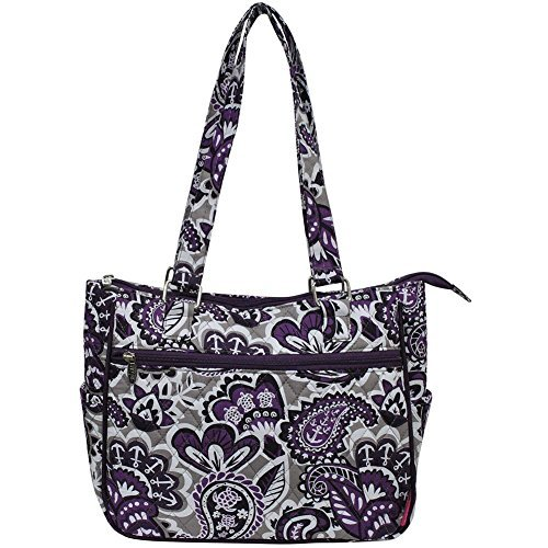 Ngil Quilted Cotton Shoulder Bag (Paisley Park ()