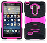 uBLACK/Pink Phone Case Cover for LG G Stylo/Stylus / LS770 / H631 -  NP CITY