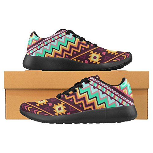 Interestprint Femmes Jogging Running Sneaker Léger Aller Facile À Pied Casual Confort Sportif Chaussures De Course Multi 30