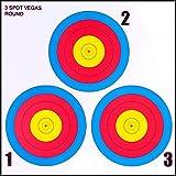 3 spot vegas target - .30-06 3 Spot Vegas Paper Target 100 Count