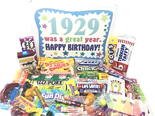1929 Was a Great Year Gift Basket with Nostalgic Candy