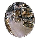 "Se-Kure Domes & Mirrors SCVI-18Z Indoor Acrylic Convex Mirror/Z Mounting Bracket, 18"" Diameter"