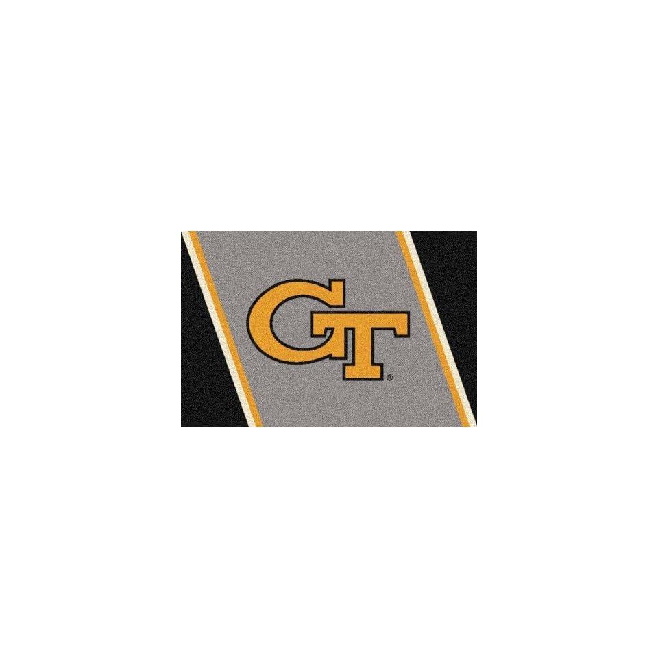 Georgia Tech Yellow Jackets GT 5 x 8 Team Door Mat