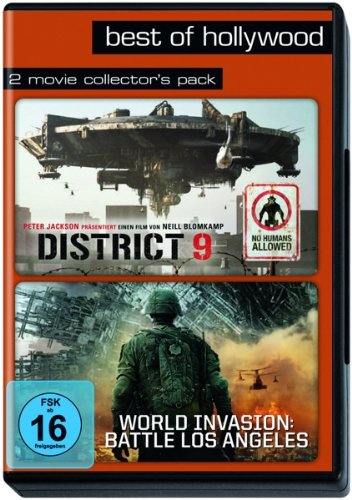 District 9 / World Invasion: Battle Los Angeles, 2 DVDs