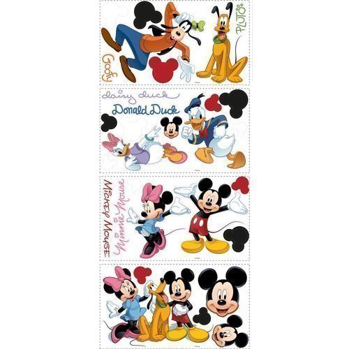 York-Wallcoverings-RMK1507SCS-RoomMates-Mickey-Friends-Peel-Stick-Wall-Decal