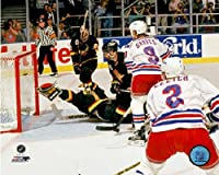 "Brian Leetch New York Rangers Game 7 1994 Stanley Cup® Finals NHL Photo (Size: 8"" x 10"")"