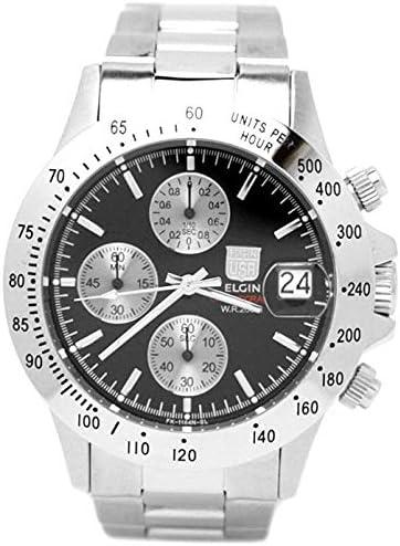 エルジン ELGIN [200m防水] 腕時計 クロノグラフFK1184S-B