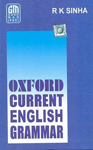Oxford Current English Grammar