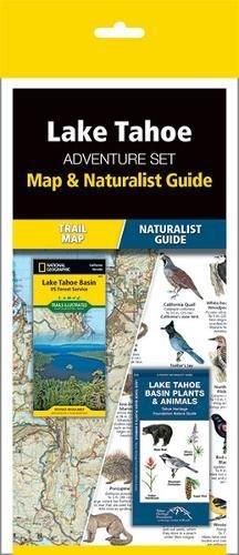 Lake Tahoe Adventure Set: Map & Naturalist - Lakes Map Waterford