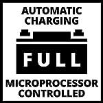 Einhell-Caricabatteria-Ce-Bc-10-M-Caricabatteria-Intelligente-con-Controllo-a-Microprocessore-per-Vari-Tipi-di-Batteria-Corrente-di-Carica-di-10-Ampere-Massimi