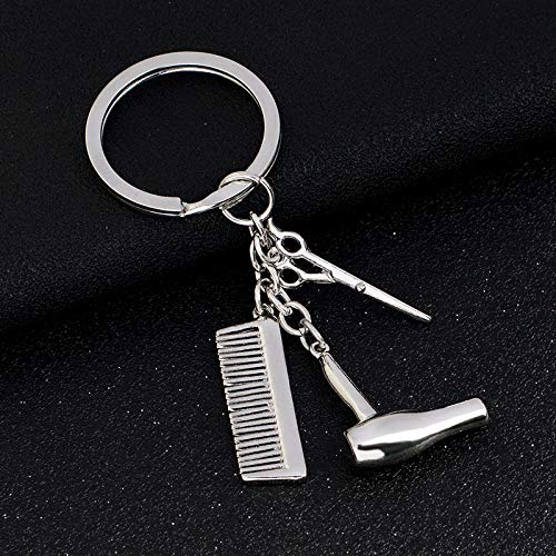 Amazon.com: Eaglers Llavero Metal Dryer Combs Scissors ...