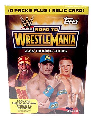 Topps WWE 2015 Road to Wrestlemania Value Box, Black