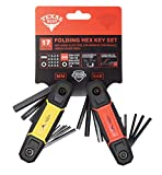 Texas Best Folding Metric and SAE Hex Keys