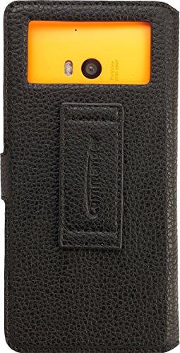 Commander Elite Uni Leder Book Case XXL5.2 für Samsung G900 Galaxy S5/Sony Xperia Z2 schwarz