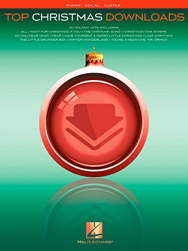 Hal Leonard Top Christmas Downloads for Piano/Vocal/Guitar (Merry Christmas Music Download)