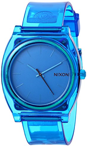 nixon-mens-a1191781-00-time-teller-p-analog-display-japanese-quartz-blue-watch