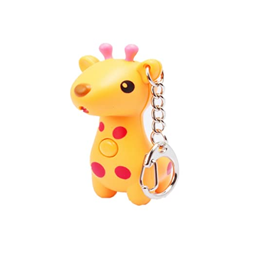 wodej iayuan novedad de nette jirafa - Antorcha LED Keychain ...