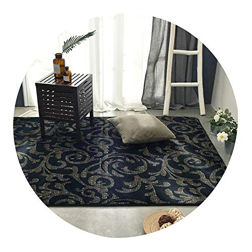 (Printed Plush Carpet for Living Room Bedroom Rug Modern Anti-Slip Carpet Mat Rug Sofa Coffee Table Study Bedside Carpet,Color 10,120Cm X 190Cm)