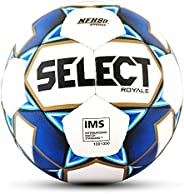 Select Sport Select 2019/2020 Royale Soccer Ball, White/Blue, Size 5