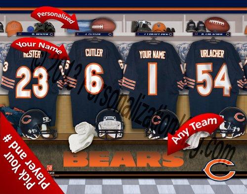 Chicago Bears Nfl Locker Room - 5