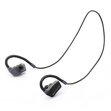 Huang Dog-shop Manos Libres Auriculares Bluetooth 4.2 Cascos inálambrico Deportivos,Sonido Estéreo de Calidad Superior Bluetooth Movil Sostenido Alcance ...