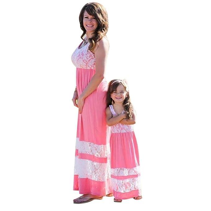 Mutter und Tochter Sommerkleider,LUCKDE Brautkleider ...