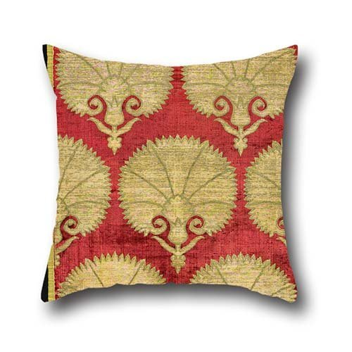 Throw Cushion Covers Of Oil Painting Unknwon, Turkey, 17th Century - Cushion Cover 18 X 18 Inches / 45 By 45 Cm,best Fit For Couch,indoor,wife,bar Seat,adults,coffee House Both Sides