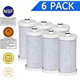 Icepure WF1CB Refrigerator water filter Replacement For Frigidaire PureSource WF1CB, WFCB, RG100, NGRG2000, WF284, Kenmore 9910, 469906, 469910,6PACK