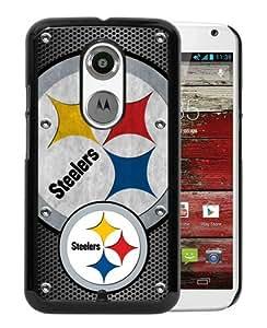 Pittsburgh Steelers 03 Black Popular Sell Customized Design Motorola Moto X 2nd Generation Case