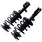 coil corolla - MILLION PARTS Complete Front Left & Right Strut Shock Coil Spring Assembly for 2003 2004 2005 2006 2007 2008 Toyota Corolla 1.8L L4