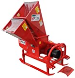 Farmer Helper 3''dia Wood Chipper & 1''dia. Shedder Cat.I 3pt 16HP+ Rated (FH-ECO19)
