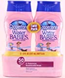 Coppertone Water Babies Sunscreen Lotion, SPF 50, 8 fl oz, 2-Pack, Health Care Stuffs