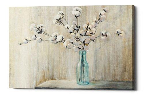 "Epic Graffiti Cotton Bouquet by Julia Purinton Giclee Canvas Wall Art, 26"" x 40"", Beige"
