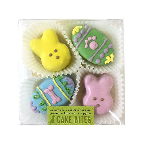Bubba Rose Easter Cake Bites Dog Treat Box