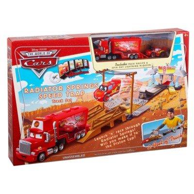 Cars Mini Adventures Radiator Springs Speed Trap Track Set