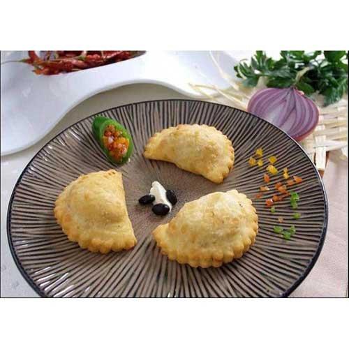 Cuisine Innovations Beef Empanada -- 100 per case.