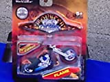 : monster chopper 1:31 die cast(flame)